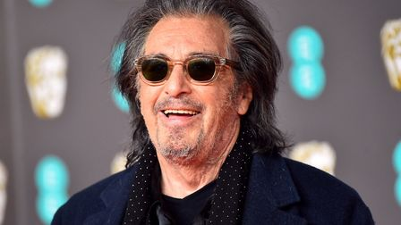 Al Pacino is celebrating his 80th birthday this weekend Picture: MATT CROSSICK/PA IMAGES