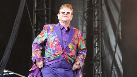 Close friend Elton John will be performing at Lady Gaga's One World concert this weekend Picture: