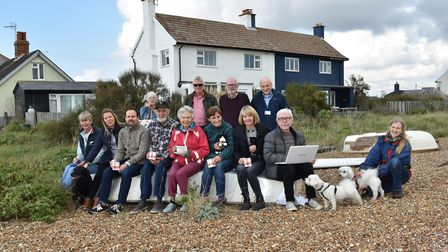 Members of the Good Neighbour Scheme launched in Hollesley, Boyton and Shingle Street Picture: TREVO