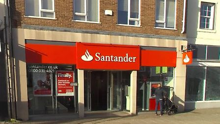 The Satander in Newmarket closed last year Picture: GOOGLE MAPS