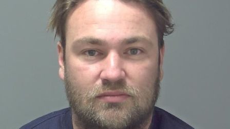 Jesse Gatehouse was jailed for 52 months at Ipswich Crown Court Picture: SUFFOLK CONSTABULARY