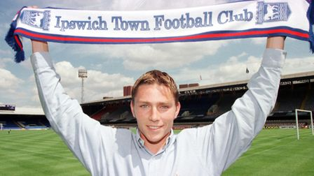 Matt Holland, a crucial and key Burley signing in 1997. Photo: ARCHANT