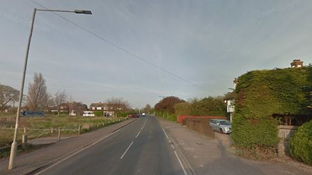A man in his 70s is in hospital following the collision Picture: GOOGLE MAPS
