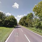 Bomb disposal specialists have been called to the A140 after suspected historic munitions were found