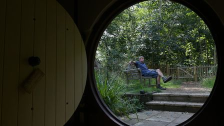 West Stow Pods have built a Hobbit Hole as part of their accommodation Picture: SARAH LUCY BROWN
