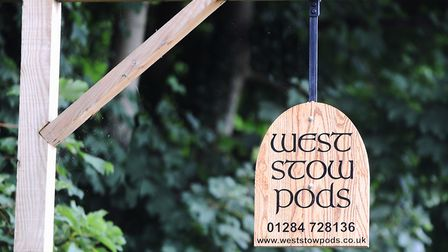 Multi-award winning glamping site West Stow pods is now for sale. PICTURE: Gregg Brown