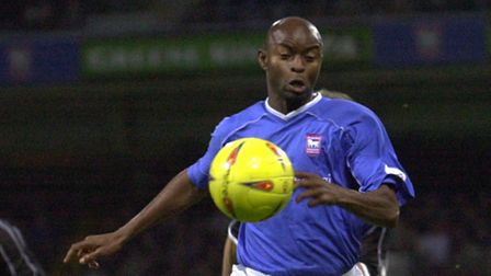 Finidi George in action for Town. Picture: ARCHANT