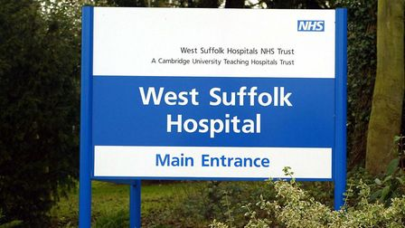 West Suffolk Hospital: Andrew Parsons/PA Wire