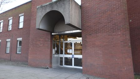 David Heath appeared at Suffolk Magistrates Court charged with two counts of possession of an imitat