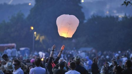 Councils and emergency services have begged people not to release sky lanterns to thank carers. Pict