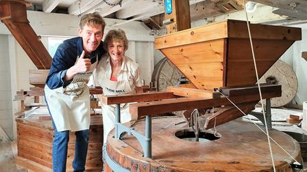 The tide mill in Woodbridge is usually in full swing in April Picture: GEMMA JARVIS