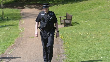 Chief constable Steve Jupp says he is 'proud' of his officers for their work during the coronavirus