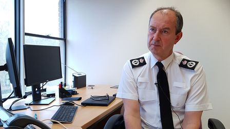 Suffolk Constabulary chief constable Steve Jupp said police involvement had been balanced to date. P