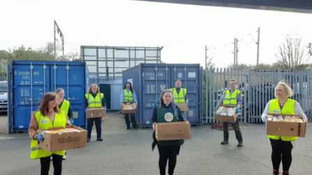 Colchester foodbank faced its busiest day ever on April 15 as demand continues to rise during the co