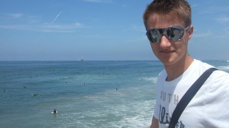 Tom Bowdidge, from West Bergholt, died at the age of 19 Picture: SUPPLIED BY FAMILY