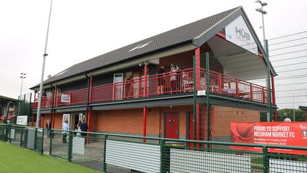 Needham Market FC is offering free admission to NHS staff for every game of next season Picture: CH
