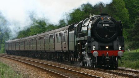 Oliver Cromwell has paid several visits to the region. Here it passes through Bealings in 2009. Pict