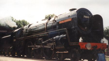 Oliver Cromwell locomotive spent more than three decades at Bressingham. Picture: ARCHANT