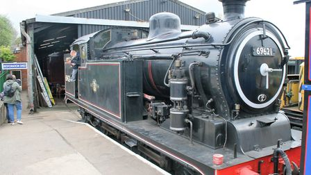 The N7 is now at the East Anglian Railway Museum at Chappel in Essex. Picture: PAUL GEATER