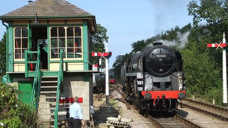 Black Prince, one of the largest locomotives in preservation, is now based at the North Norfolk Rail