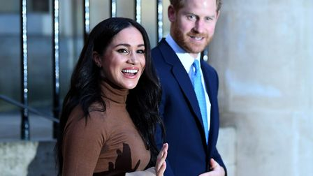 The Duke and Duchess of Sussex. When Harry was stationed at RAF Wattisham, he was able to live his l
