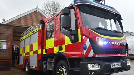 Essex Fire and Rescue were at the scene in Stanway for more than six hours Picture: NICK BUTCHER