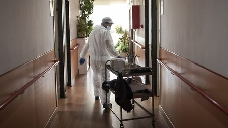 Eight Suffolk care homes are understood to be tackling coronavirus outbreaks Picture: (AP Photo/Bern