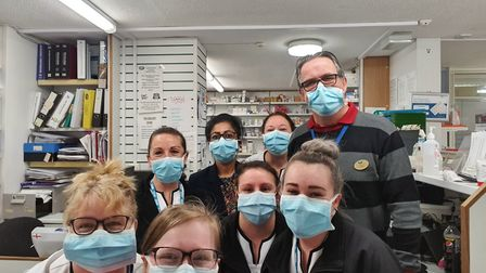 Boots pharmacy staff at Queensway in Ipswich Picture: CHLOE LEE
