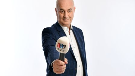 Iain Dale who will be answering questions online from readers as part of a virtual Felixstowe Book F