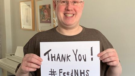 Little Britain star Matt Lucas is also assisting with the campaign Picture: LEON FEEDNHS