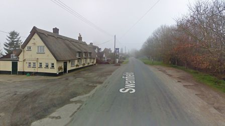 The development was planned for land near the Swan Inn pub in Lawshall Picture: GOOGLE MAPS
