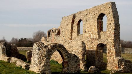 Remains of Greyfriars in Dunwich Picture: ROBERT MCKENNA/IWITNESS