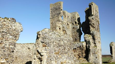 The ruins of St James' Church in Bawsey Picture: SIMON CIAPPARA/IWITNESS