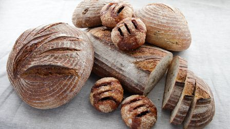 Freshly baked bread and Eccles cakes Picture: Pump Street Bakery
