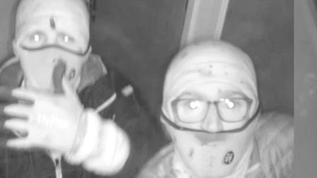 Essex Police has released a CCTV picture of three men it would like to speak to following a burglary