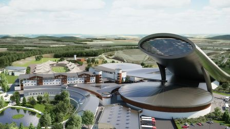 New-look artist's impression of SnOasis. Picture: ONSLOW SUFFOLK/SNOASIS