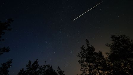 The Lyrid meteor shower was briefly visible from earth (file photo) Picture: GETTY IMAGES