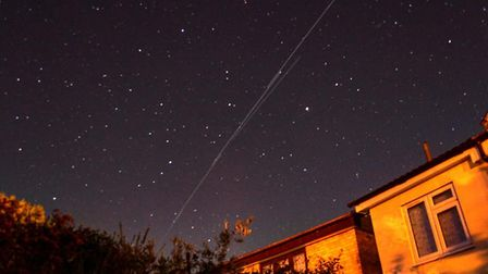 The Starlink satellites - known as SpaceX - were seen over Sudbury. Picture: JOHN FITCH