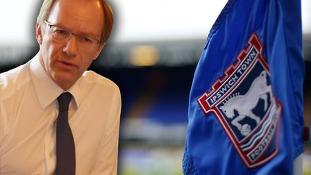 Ipswich Town owner Marcus Evans will cover the club's losses during the coronavirus pandemic. Pictur