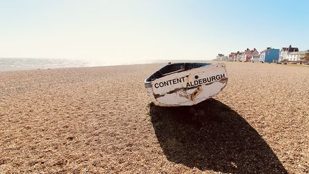 The sea front at Aldeburgh remains quiet Picture: TIM DAY