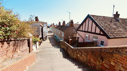 A beautiful but quiet day in Aldeburgh Picture: TIM DAY