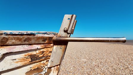 It's been quiet on Aldeburgh's beaches Picture: TIM DAY