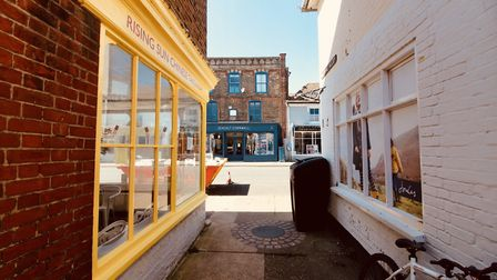 A glimpse into the quiet streets of Aldeburgh Picture: TIM DAY