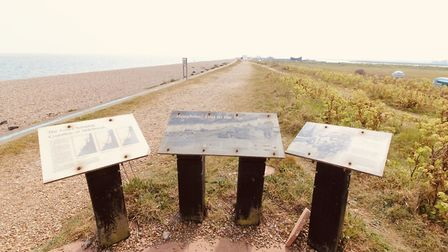 There are no tourists to read the information signs Picture: TIM DAY
