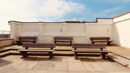 Empty benches in Aldeburgh Picture: TIM DAY