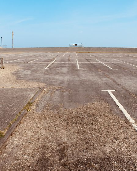 Empty car parks Picture: TIM DAY