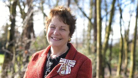 Lord Lieutenant of Suffolk , Lady Euston Picture: SARAH LUCY BROWN