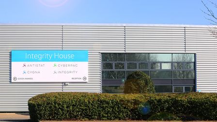 Integrity House, the UK HQ of Ant Group in Bury St Edmunds Picture: G BRUNSDON