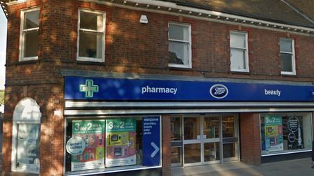 A quantity of perfume has been stolen during a burglary at the Boots store in High Street, Haverhill