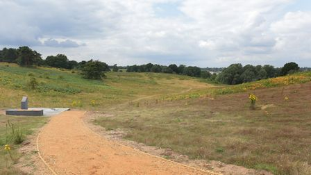 There are public rights of way at Sutton Hoo - but they can only be used by people who can walk to t